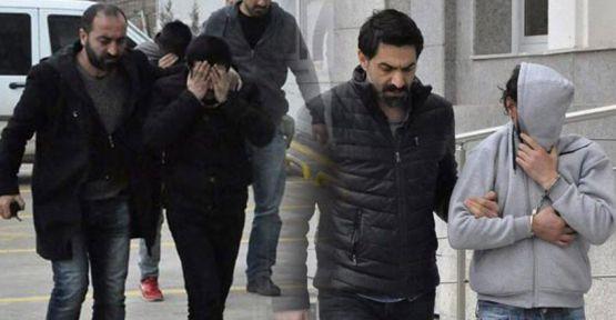 12 işyerini soyan hırsızlar yakalandı
