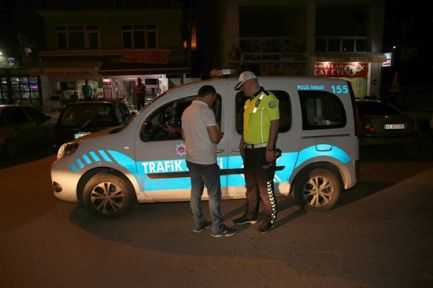 141 sürücüye 59 bin TL ceza uygulandı