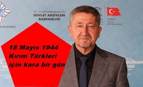 18 Mayıs 1944 Kırım Türkleri için kara bir gün