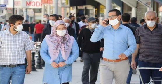 42 ilde maskesiz sokağa çıkmak yasakoldu!
