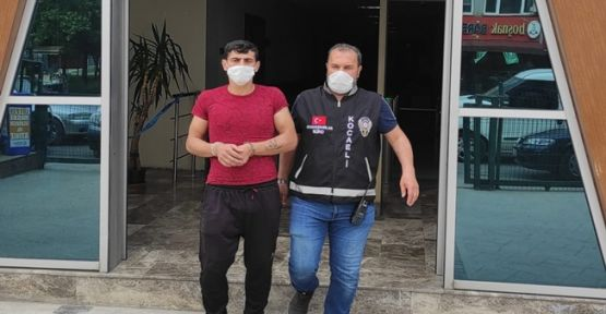 5 yıldır aranan hırsız İzmit'te yakalandı!