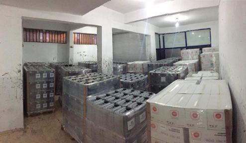 760 bin liralık mal çalan zanlılar yakalandı