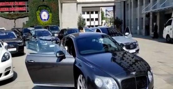 9 İlde 24 lüks otomobile el konuldu