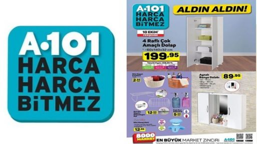 A101 10 Ekim 2019 Aktüel Kataloğu