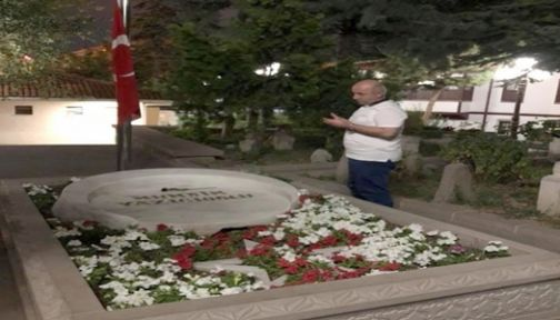 AK Parti Darıca Yazıcıoğlu'nun kabrini ziyaret etti