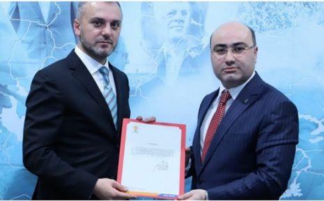 AK Parti Darıca yeni ilçe başkanını tanıttı