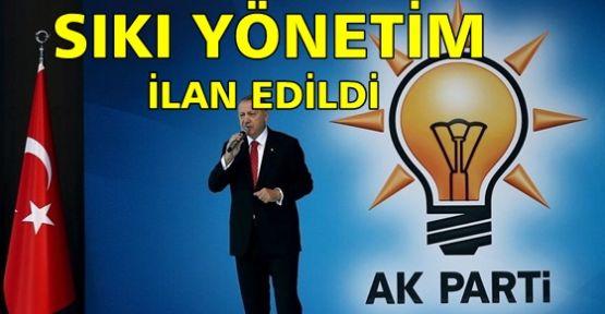 AK Parti sıkı yönetim ilan etti!