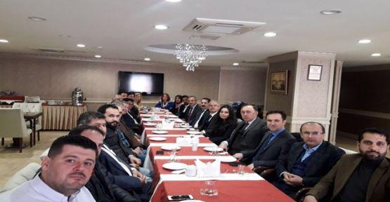 AK Parti'de istişare toplantısı yapıldı