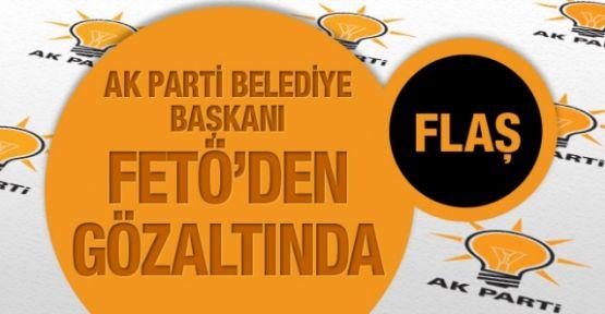 AK Partili Belediye Başkanı FETÖ'den gözaltında