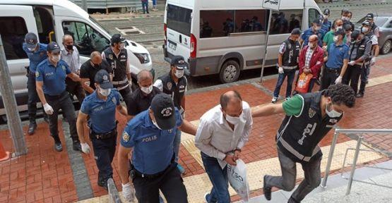 Akaryakıt kaçakçılığı operasyonunda 10 kişi adliyeye sevk edildi!