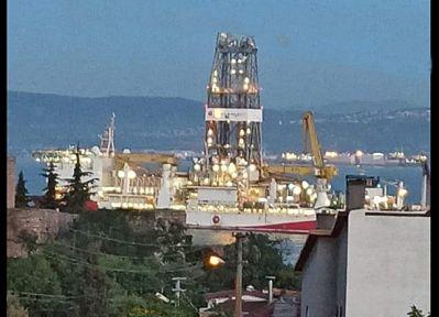 Araştırma gemisi Yavuz Gebze'de!