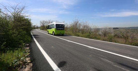 Arızlı - Umuttepe yolu tamamlandı