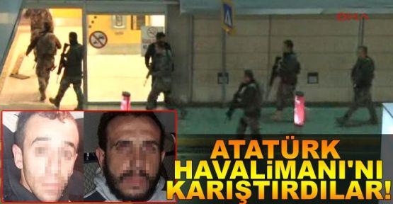 Atatürk Havalimanında hareketli saatler