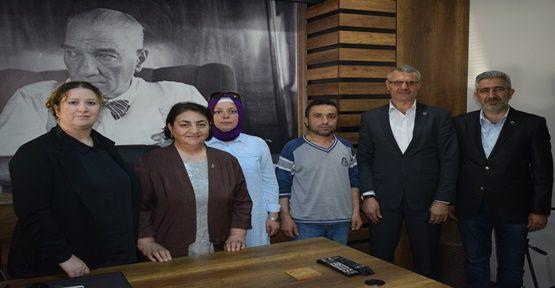 Ayla İlgün'den gazetemize ziyaret