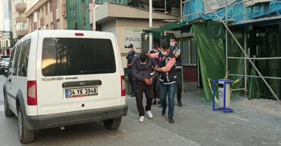 Azılı hırsızlar tutuklandı!