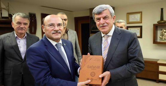 Başkan, Bem-Bir-Sen Genel Başkanını konuk etti