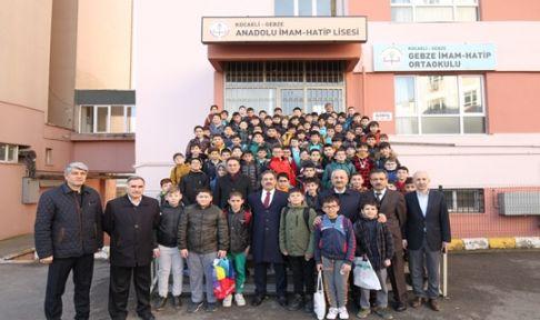 Başkan Büyükgöz Kendi Okulunda