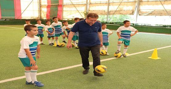 Başkan Demirci, Yaz Okullarını Ziyaret Etti