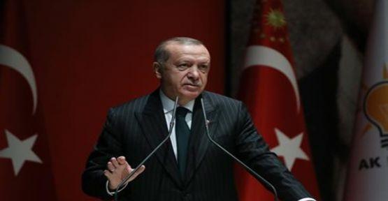 """Başkan Erdoğan""""ÜLKE MENFAATLERİNİ SAVUNMAK, GELECEĞİ İNŞA ETMEK İÇİN ÇALIŞIYORUZ"""""""