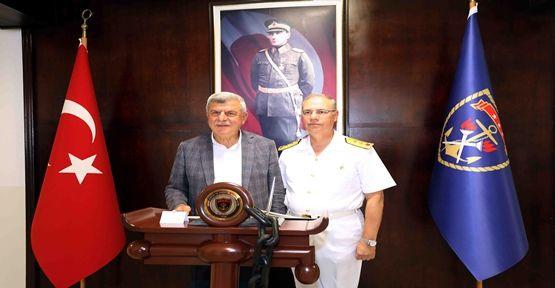Başkan, Garnizon Komutanını ziyaret etti
