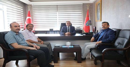 Başkan Karabacak'tan Kaçar'a Hayırlı Olsun Ziyareti!