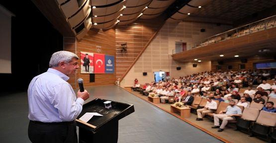 """Başkan Karaosmanoğlu """"Biz doların kulu değiliz"""""""