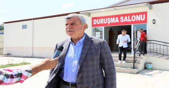 """Başkan Karaosmanoğlu,  """"Ülkemizin önünü kesmek istediler"""""""