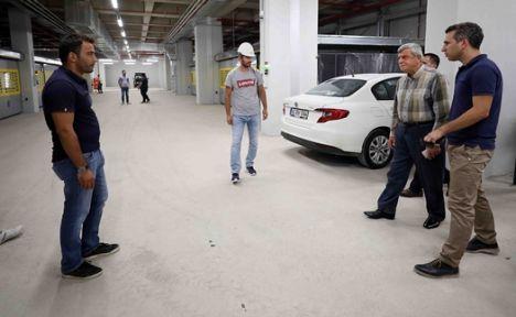 Başkan ''Otoparkımız ilk bir yıl ücretsiz olacak''