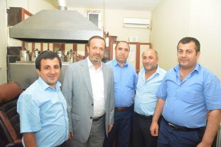 Başkan Toltar Personeli ile Bayramlaştı