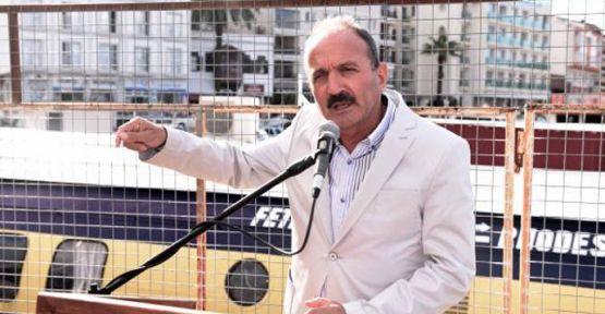 Belediye Başkanından beddualı iskele teslimi