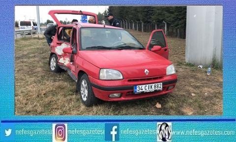 Bilecik'te meydana gelen kazada 4 kişi yaralandı