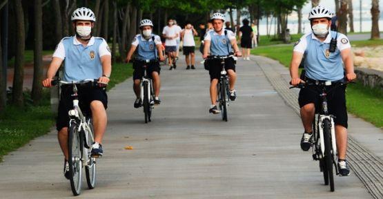Bisikletli polisler Kocaeli'de göreve başladı