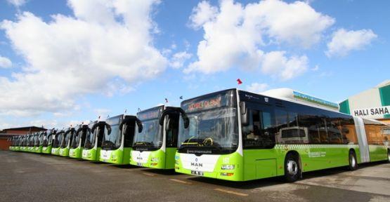 Büyükşehir ulaşım filosunu genişletiyor  109 yeni nesil otobüs alınacak