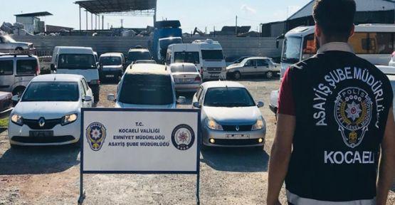 Çalıntı araçları change  edip satan 2 kişi yakalandı!
