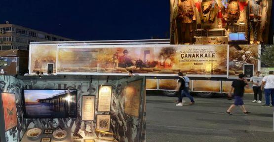 Çanakkale Savaşları Mobil Müzesi Gebze'ye geliyor!