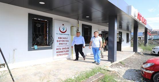Çayırova Belediyesi, Yapımını Tamamladığı 112 ASHİ'yi Bakanlığa Devretti