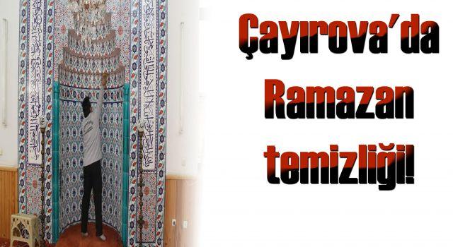 Çayırova'da Ramazan temizliği!