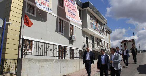 Çayırova'da yatırımları inceledi