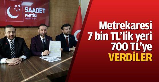 """Çelik: """"Hünkar Çayırı 30 yıllık kiraya verildi!"""""""