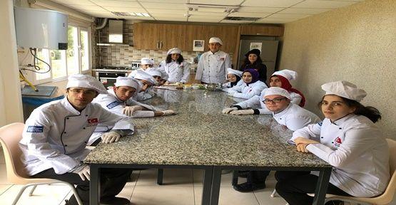 Cemil Meriç'te aşçı yardımcılığı kursu başladı