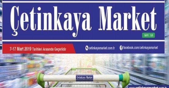 Çetinkaya Market İndirim Kataloğu 7-17 Mart
