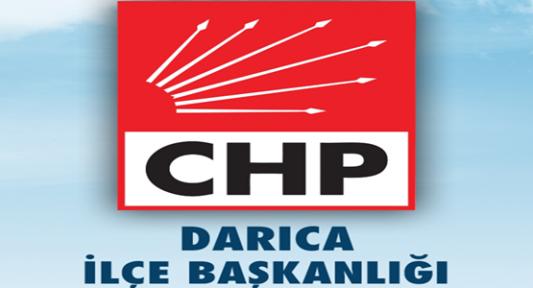 CHP DARICA DANIŞMA KURULU TOPLANIYOR.