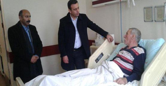 CHP Darıca'dan hasta ziyaretleri