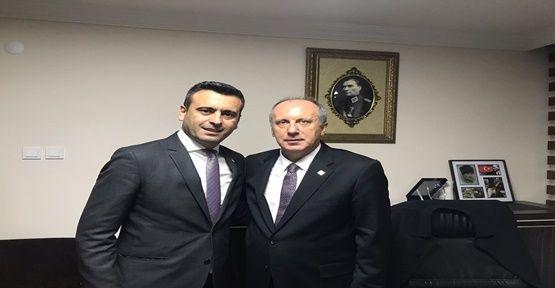 CHP Darıca'dan Muharrem İnce'ye Destek!
