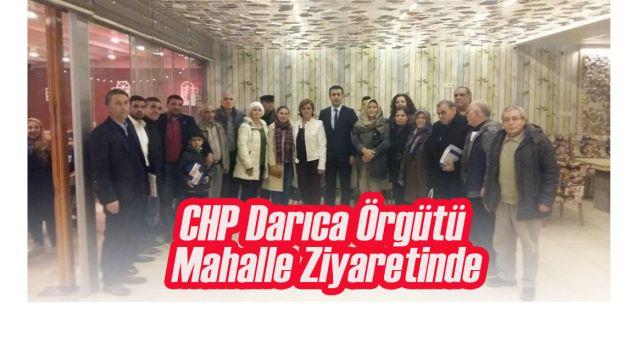 CHP Darıca'dan Ziyaret