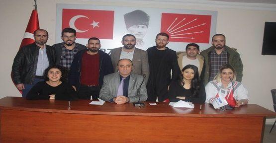 CHP Gebze Gençlik Kollarında Gayretli Başkan Oldu !