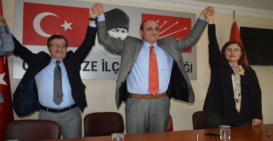 CHP Gebze'de mühür teslimi yapıldı!