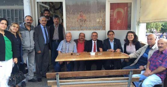 CHP'li Akar'dan mahalle turu