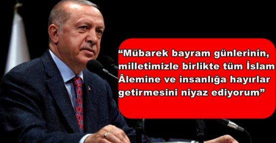 Cumhurbaşkanı Erdoğan Kurban Bayramı dolayısıyla bir mesaj yayımladı
