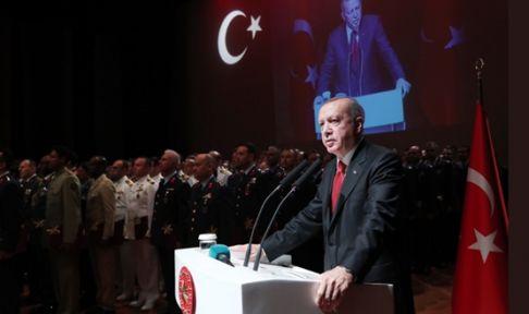 """Cumhurbaşkanı Erdoğan""""DÜNYANIN EN GÜÇLÜ ORDULARINI, EN BÜYÜK DEVLETLERİNİ KURMUŞ BİR MİLLETİZ"""